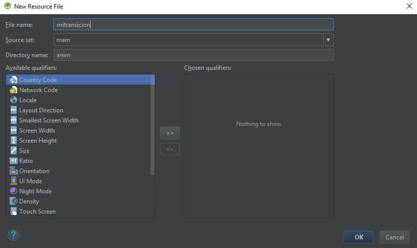 Crear SplashActivity Android Studio, CableNaranja