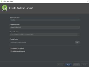 Crear Vista Web Android, en CableNaranja
