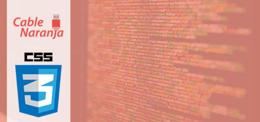 Artículos sobre CSS en CableNaranja