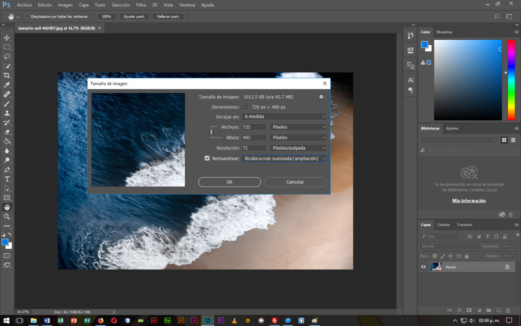 Optimizar Imágenes para Web en Photoshop - CableNaranja