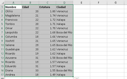 Ordenando datos en Excel con más criterios - CableNaranja