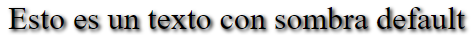 Sombras de texto en CSS3 - CableNaranja