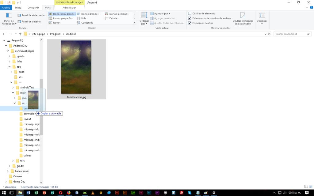 Como Colocar Background Sobre Canvas FullScreen - CableNaranja
