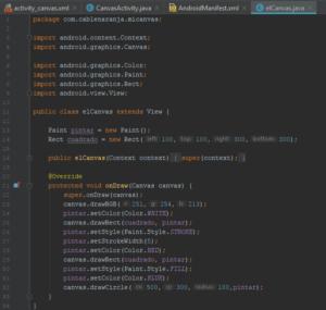 Como Crear Canvas Android Studio, CableNaranja