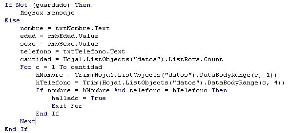 Como crear un CRUD en Excel con VBA - CableNaranja
