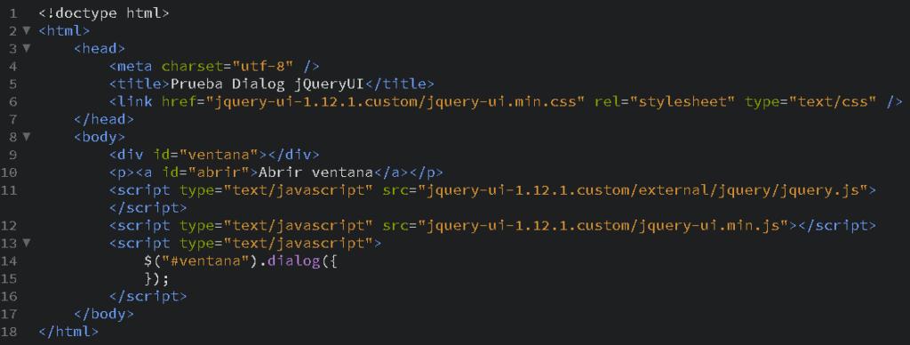 Como crear ventanas de diálogo en JavaScript con jQuery - CableNaranja