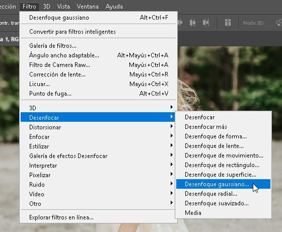Como hacer un efecto onírico en Photoshop - CableNaranja