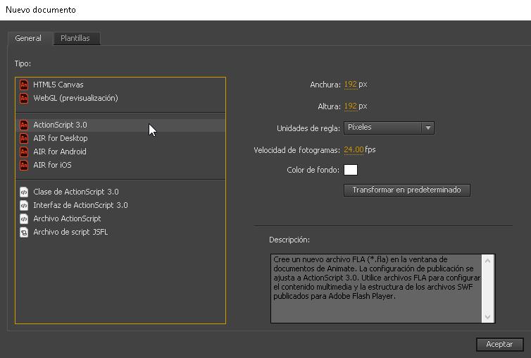 Como crear un archivo APK con Adobe Animate - CableNaranja