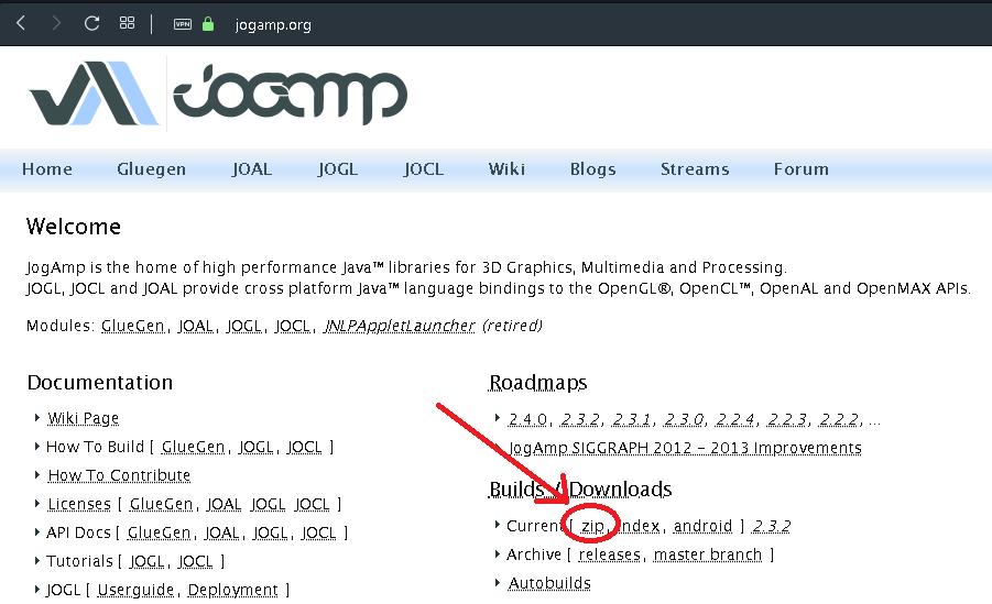 Como crear una aplicación OpenGL en Java con JOGL y Eclipse