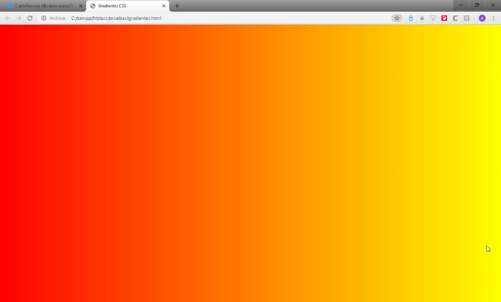 Como hacer degradados en CSS - CableNaranja
