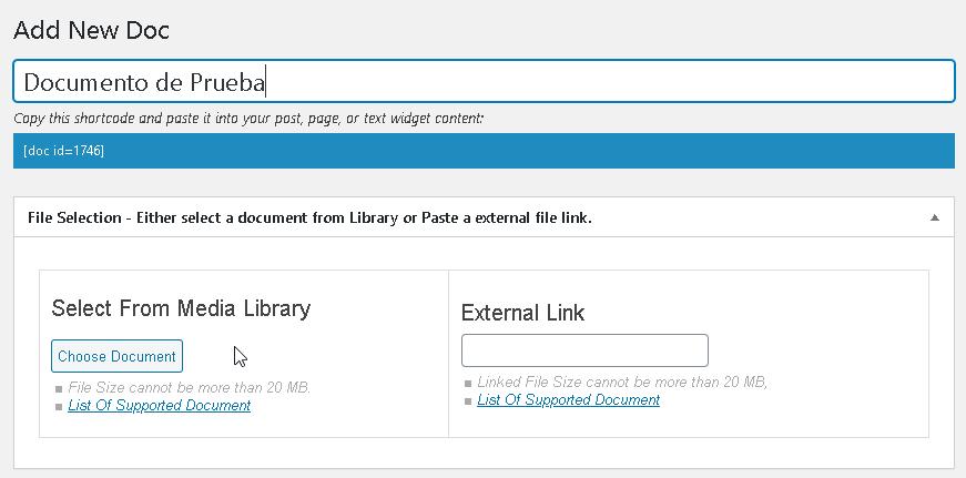 Como incrustar archivos en #Wordpress con el plugin-Document Embedder - CableNaranja