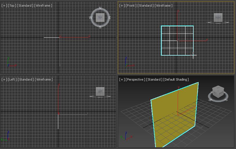 Colocar una textura sobre un plano en 3D Max - CableNaranja