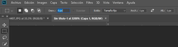 Como crear un patrón de rayas diagonales en #Photoshop - CableNaranja